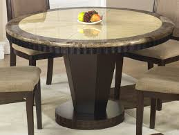 Stunning Small Round Wood Dining Table Also Wooden Kitchen With