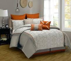 orange king size comforter style king size comforter family home burnt