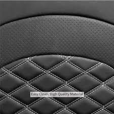 black diamond car seat cover material