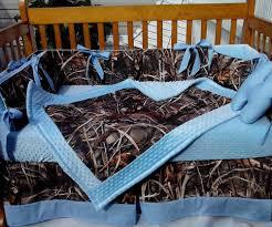 camo crib bedding sets style