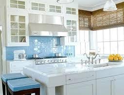 kitchen blue glass backsplash. Modren Blue Blue Tile Sky Glass Subway Kitchen Backsplash  Inside PodDisccom