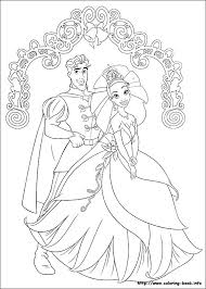 Small Picture Princess and the Frog coloring picture