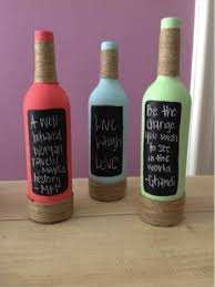 Decorative Alcohol Bottles