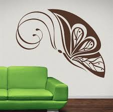 Wall Art Design Simple Wall Art Brown Beautiful Butterflies