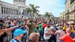 shortages fuelled Cuba protests ...
