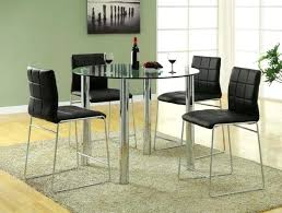 round counter height table and chairs furniture of ii glass top 5 pieces round counter height