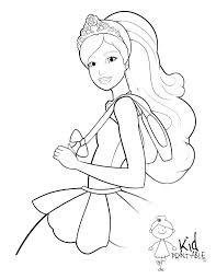 Barbie Doll Coloring Pictures Barbie Doll Coloring Pages Coloring