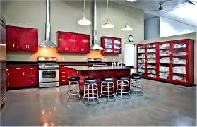Stunning Shocking Painting Metal Kitchen Cabinets Metal Kitchen