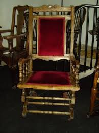19th century american style rocking chair