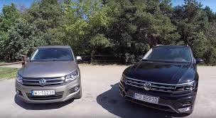 All-New 2016 Volkswagen Tiguan Gets Compared to the Old SUV ...