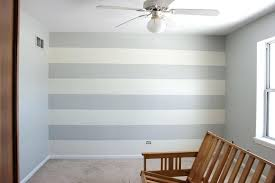 Striped painted walls Nursery How To Paint Stripes On Wall Simple Home Painting Ideas Lines On Wall Decorative Painted Walls Juniordeveloperclub How To Paint Stripes On Wall Juniordeveloperclub