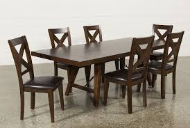 living spaces dining sets. preloadmalcolm 7 piece extension dining set - back living spaces sets l