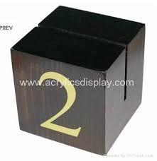 Wooden Menu Display Stands wooden menu display holder block China Manufacturer wooden 80