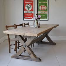 Country Dining Tables Reclaimed Timber Country Dining Table By Home Barn