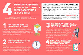 Job Offer Considerations How To Evaluate A Job Offer Aia Singapore
