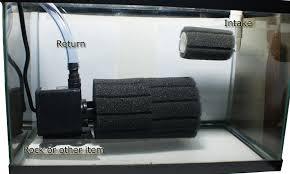 sump or central aquarium filter system