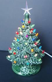 Vintage Style Ceramic Christmas tree tabletop tree