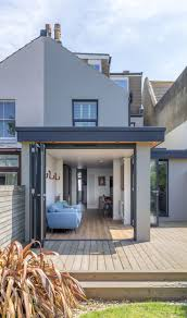 Full Size of Roof:flat Roof Wonderful Roof Eave Modern Flat Roof Corner  Opening Timber ...