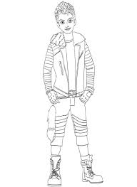 Free Descendants Coloring Pages Free Coloring Pages