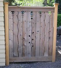 wood fence panels door. Hide The Recycle Bins With A Decorative Panel Wood Fence Panels Door