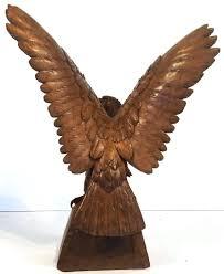 wooden eagle statue large black forest eagle of carved wood for 2 wooden bald eagle wooden eagle statue