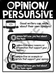 Image Result For Oreo Opinion Writing Anchor Chart