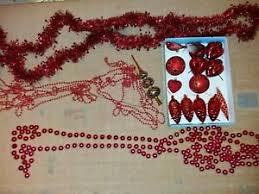 Details Zu Christbaumschmuck Weihnachtsdeko Kugeln Lichterkette Weiß Rot Braun Silber Blau