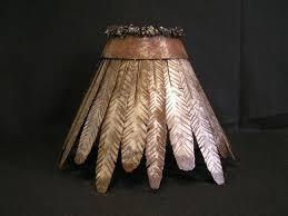 custom made iron rawhide lamp shades