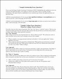 Example Of Scholarship Essay 15 Example Of Scholarship Letter For College Leterformat
