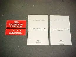 1985 ford truck cowl foldout wiring diagram f600 f700 f800 f7000 1994 b f 600 700 800 ford truck electrical evtm service manual 94 wiring diagram