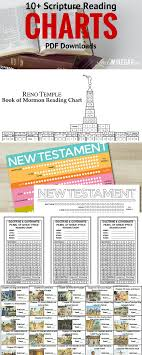 10 Lds Scripture Reading Charts Scripture Reading Chart