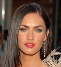 Megan Fox Canada Oval faces and Colors