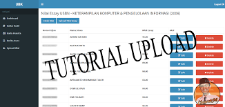 tutorial upload nilai essay usbn fosmkjb kali ini saya akan memberikan sedikit tutorial untuk mengupload nilai essay kedalam web opr smkdki info langsung saja kita ke tkp