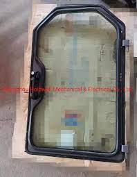 6729284 skidsteer front door glass