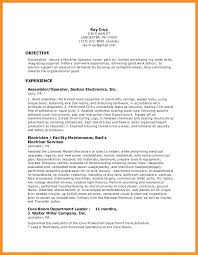 Resume For Production Worker Assembly Line Worker Resume Production