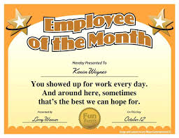 Certificates Funny Free Printable Certificates Funny Award Templates Employee