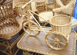 Bicycle Furniture Wicker Bicycle And Furniture Made From Organic Osier Rod On