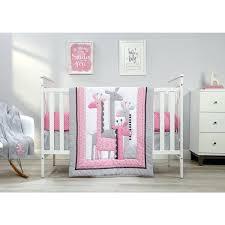 giraffe bedding set little love giraffe time pink bedding set animal print bedding sets canada