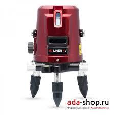 <b>Нивелир</b> лазерный <b>ADA 3D LINER</b> 4V А00133 - Лазерные ...