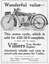 this advert from the march 19th 1925 edition of the motor cycle magazine features an excelsior machine ed with a villiers engine