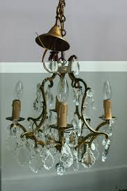antique french glass chandelier antiques atlas french brass chandelier