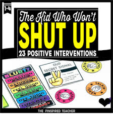 23 Behavior Interventions For The Kid Who Blurts Blurts
