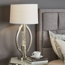 Ellipse Sparkling Nickel Finish Table Lamp by iNSPIRE Q Bold - Free  Shipping Today - Overstock.com - 22835678