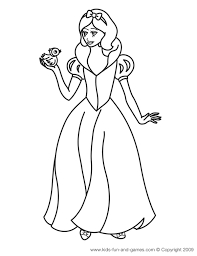 Disney Princess Coloring Pages Kids Games Central