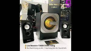 Loa Vi Tính BOSSTON T3600 Loa Máy Vi Tính PC Nghe Nhạc Hay Bluetooth Chơi  Game BOSSTON Để Bàn - YouTube