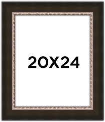 black and gold frame png. 20x24 Black W/Gold Frame And Gold Png