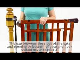 How to Install the Summer Infant Banister & Stair, Top of Stairs ...