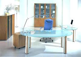 White office table Executive Home Office Glass Desk Glass Top Office Desk Glass Table Office Unique Home Office Glass Table Home Office Glass Desk Doragoram Home Office Glass Desk Glass Desk Metal And Glass Home Office Desks