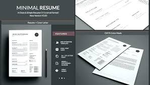 Free Template For A Resume Design Resume Template Simple Ms Word