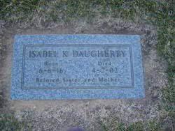 Isabel Kathleen Landon Daugherty (1916-2002) - Find A Grave Memorial